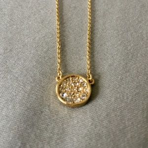 {FOSSIL} Pave Crystal Necklace